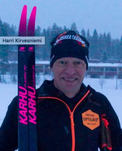 Harri Kirvesniemi mukana Jyväskylä Ski Marathonissa