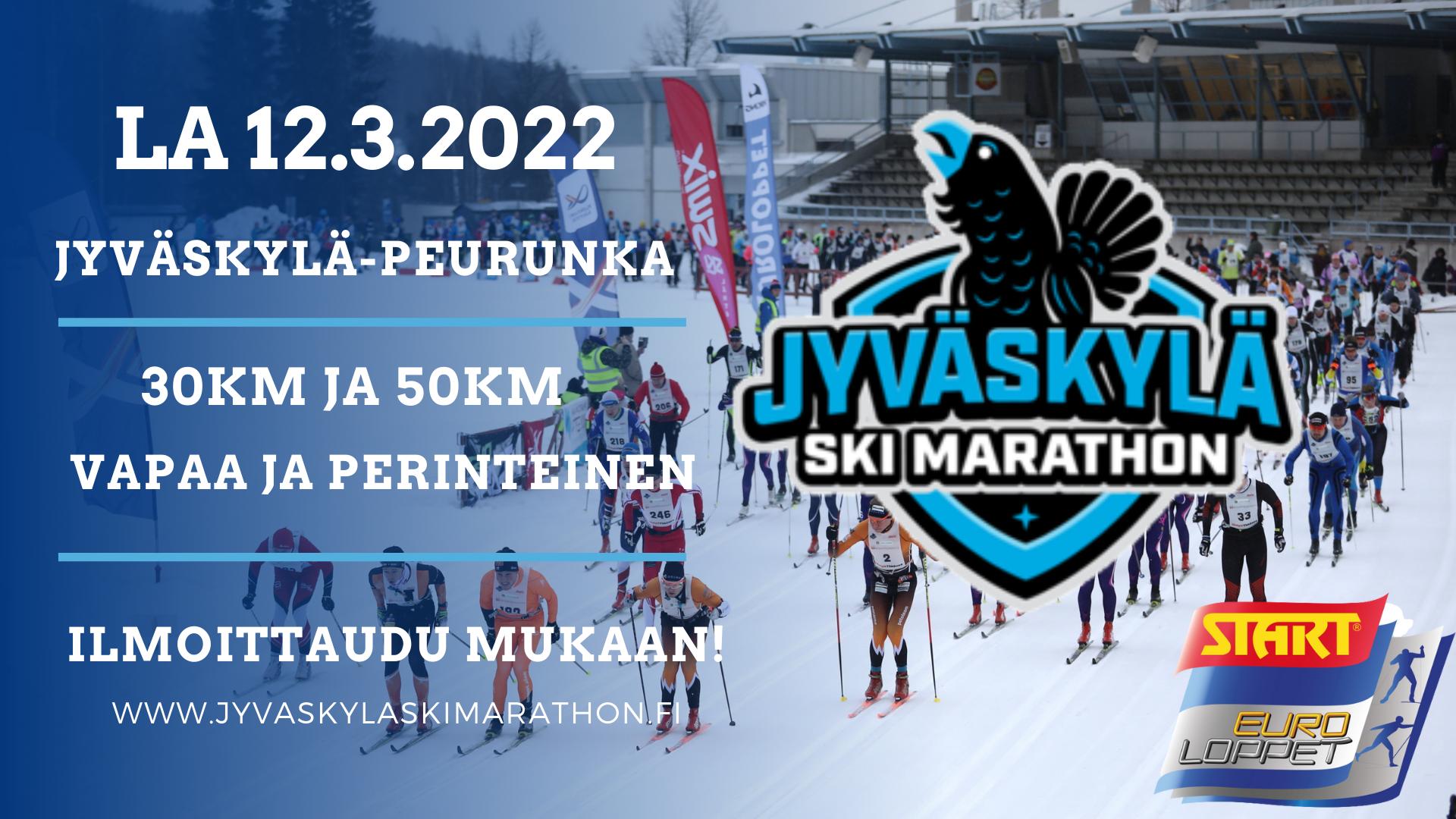 JyväskyläSkiMarathon2022